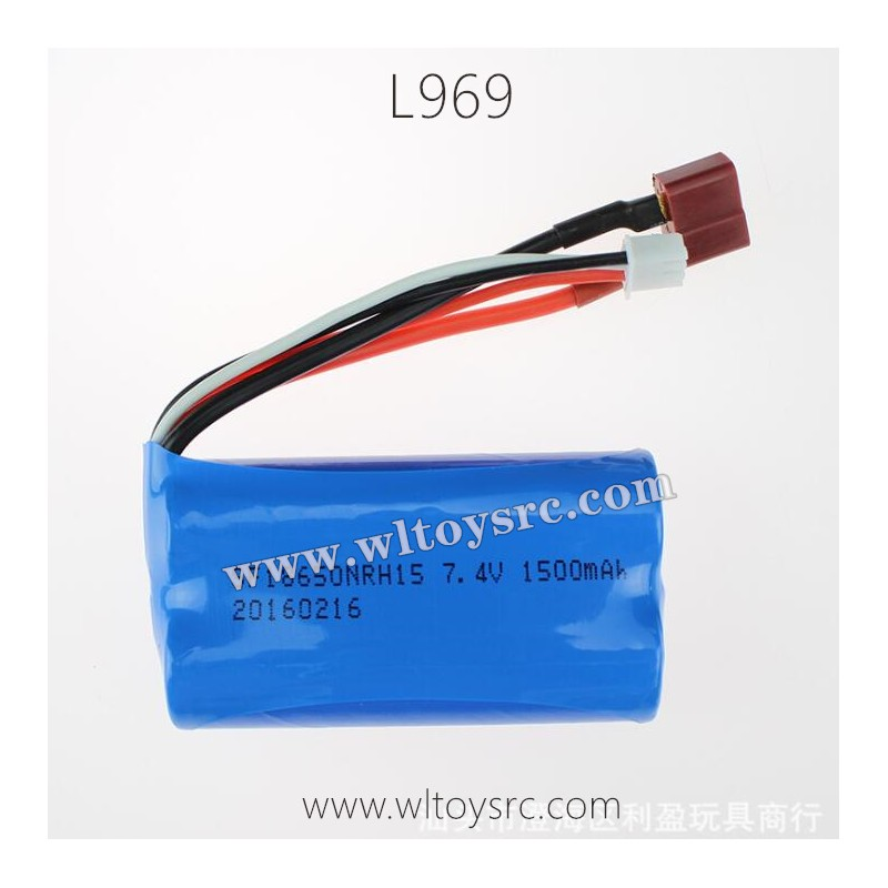 WLTOYS L969 Terminator Parts-7.4V 1500mAh Battery