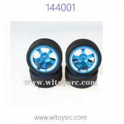 WLTOYS 144001 Upgrade Parts, Complete Wheels