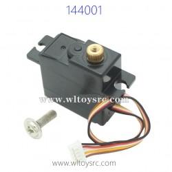 WLTOYS 144001 RC Car Upgrade Parts, Servo
