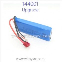 WLTOYS 144001 Upgrade Parts, 7.4V Li-Po Battery
