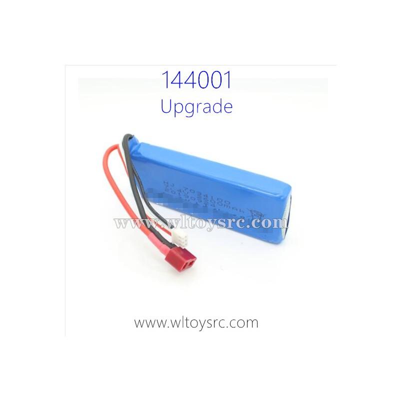 WLTOYS 144001 Upgrade Parts, 7.4V Li-Po Battery