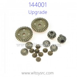 WLTOYS 144001 Upgrade Parts, Differential Gear and Bevel Gear