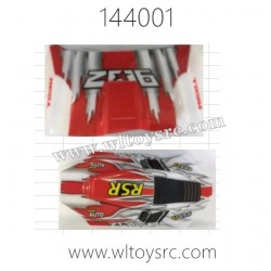 WLTOYS 144001 Parts, Car Shell Red