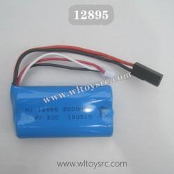 Haiboxing 12895 Parts-7.4V 1500mAH Battery