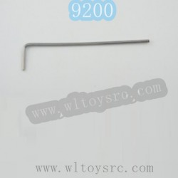 PXTOYS 9200 Parts-2mm Inside Hexagon Wrench
