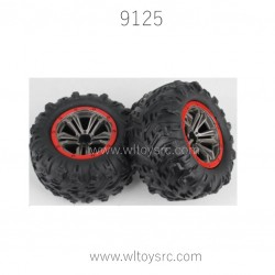 XINLEHONG 9125 Parts-Tire Assembly 25-ZJ02