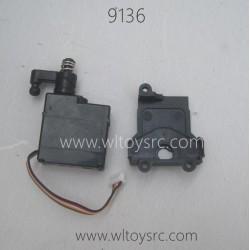 XINLEHONG 9136 Original Parts 5 Wires Servo