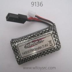XINLEHONG 9136 Battery