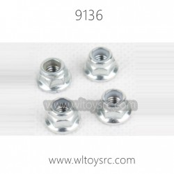 XINLEHONG 9136 1/16 RC Car Parts-Hex Nut
