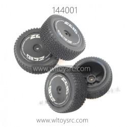 WLTOYS 144001 RC Car Parts, Wheels complete