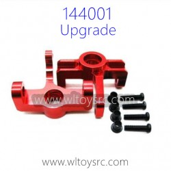 WLTOYS 144001 Aluminum Alloy Parts Front Wheel Seat Upgrade