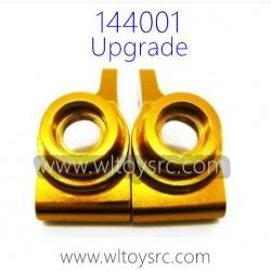 WLTOYS 144001 Upgrade Parts, Rear Wheel holder Gold