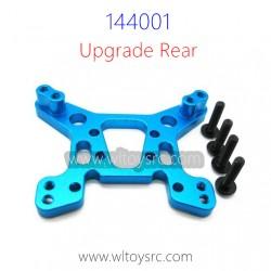 WLTOYS 144001 1/14 Upgrade Metal Parts, Rear Shock Frame Blue
