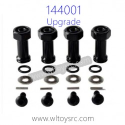 WLTOYS 144001 Upgrade Parts, Extended Adapter Black