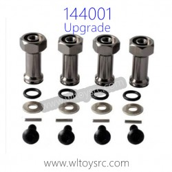 WLTOYS 144001 Upgrades, Extended Adapter set 24MM
