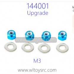 WLTOYS 144001 Upgrade Parts, Hex Nut M3