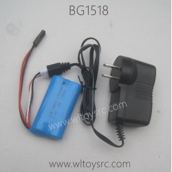 SUBOTECH BG1518 Tornado Desert Buggy Parts-Battery and Charger