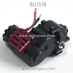 SUBOTECH BG1518 Desert Buggy RC Truck Parts-Rear Gear Box Complete HBX01