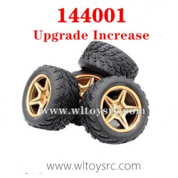 WLTOYS 144001 Wheel and Tires