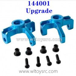 WLTOYS 144001 Upgrade Metal Parts, Front Wheel Seat Blue
