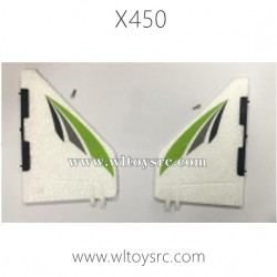 WLTOYS XK X450 Helicopter Parts-Tail flap