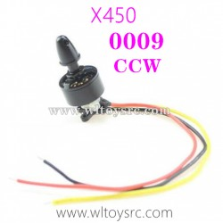 WLTOYS XK X450 RC Drone Parts-CCW Motor 0009