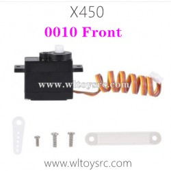 WLTOYS XK X450 RC Drone Parts-Front Motor Drive Servo 5G