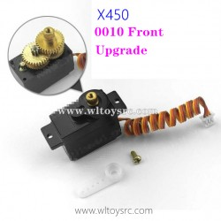 WLTOYS XK X450 RC Upgrade Parts-Front Motor Drive Servo 5G Metal Gear