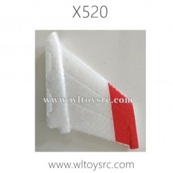 WLTOYS XK X520 Fighter RC Plane Parts-Vertical Tail