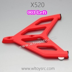 WLTOYS XK X520 Fighter RC Plane Parts-Left Vertical Tail