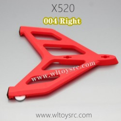 WLTOYS XK X520 Fighter Parts-Right Vertical Tail