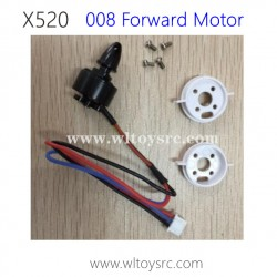 WLTOYS XK X520 Fighter RC Drone Parts-Forward Brushless Motor kits