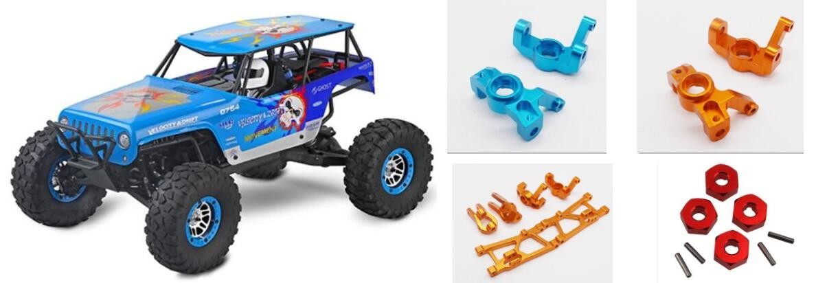 WLTOYS 10428-A RC Truck Upgrade